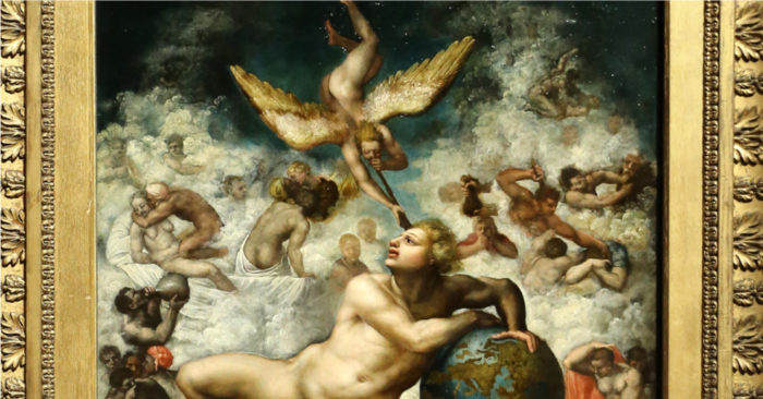 Spiritual awakening in Michelangelo's 'The Dream'