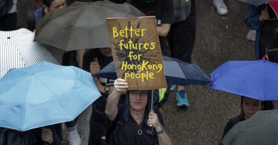 Tens of thousands Hong Kong protests enter 11th consecutive weekend