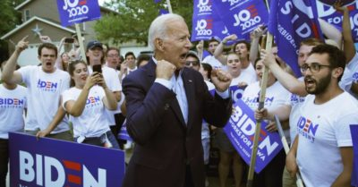 Joe Biden cuts back his campaign schedule, widens lead in new poll