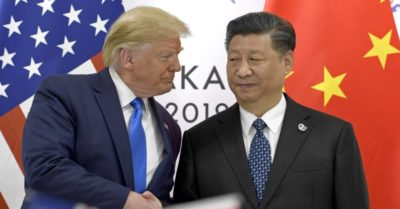 President Trump orders American companies to leave China