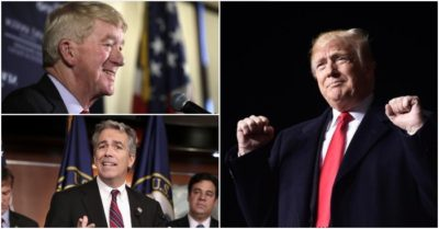 President Trump's Republican challengers say canceling GOP primaries is a mistake