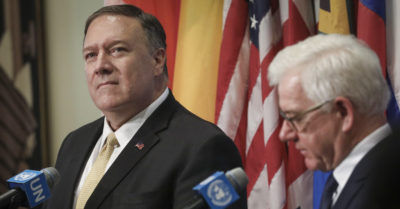Pompeo, Freeland address China, Venezuela, and Russia