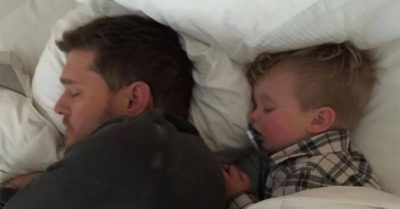 This viral Michael Bublé video has parents everywhere crying about their children growing up