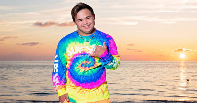 Beachwear company features model with Down syndrome in Florida