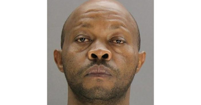 This undated booking photo provided by the Dallas County, Texas, Sheriff's Office shows Billy Chemirmir. Chemirmir, previously arrested in the death of an 81-year-old woman, has been charged with killing several other elderly women whose jewelry and other valuables he stole, authorities said Thursday, May 16, 2019. (Dallas County Sheriff's Office via AP)