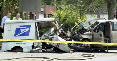 40-year-veteran of USPS was victim of fatal crash on Massachusetts, Connecticut border line