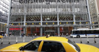 """This is satanic,"" journalist refers to The New York Times for trying to rewrite US history"