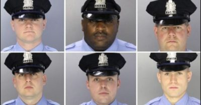 Philadelphia police release images of six officers shot during standoff in Tioga-Nicetown