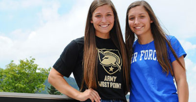 Texas twins split to attend separate US military academies
