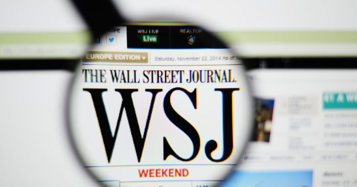 Wall Street Journal reporter was denied renewal of credentials/Shutterstock