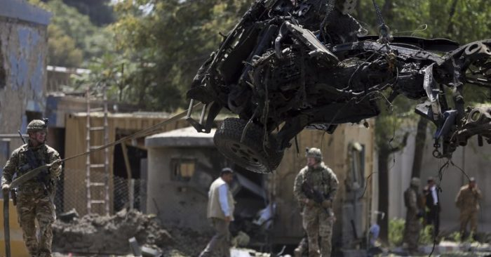 'Called off peace talks with Taliban over Kabul bombing'