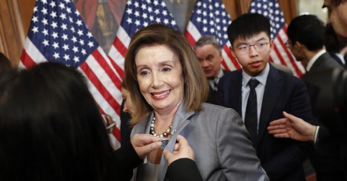 China attacks Pelosi for meeting Hong Kong activists