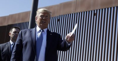 Border wall construction to go live stream
