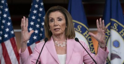 Nancy Pelosi releases a letter on whistleblower complaint
