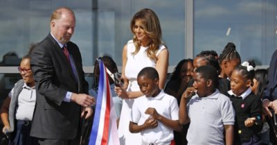 Melania Trump on reopened Washington Monument: 'We need to preserve all of our national treasures for generations to come'