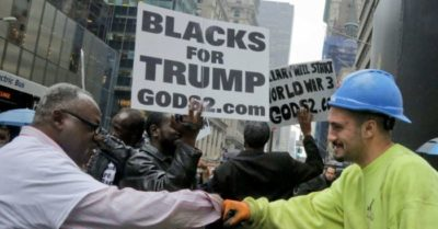 Trump could be the Republican with the highest percentage of African American vote in history