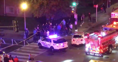 Police searching for 2 suspects with weapons in Washington, DC, shooting left 1 dead, 5 injured
