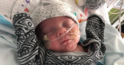 Florida baby weighed just over 1 pound at birth goes home after more than 100 days in the NICU