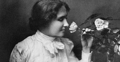 The message of Hellen Keller's life
