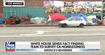 Homelessness in Californian cities runs rampant, Trump will issue notice 'very soon'