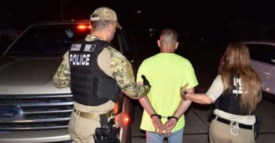 ICE Houston arrests Mexican deported 3 times and wanted for homicide in California