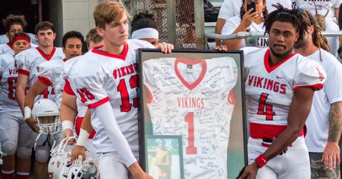 Northeast football player on life support after hit