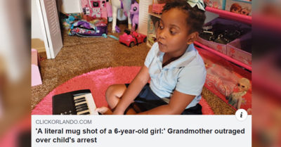 6-year-old arrested for tantrum