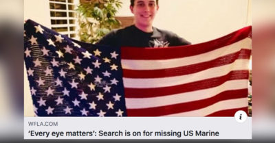 Family ask for help locating missing 20-year-old US Marine, last seen Monday night