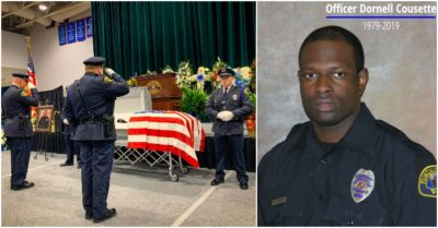 1,600 people showed up at funeral for Alabama police officer who died in a shootout with suspect