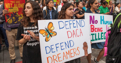 DACA illegal aliens sue to ensure they can collect welfare, still obtain green cards