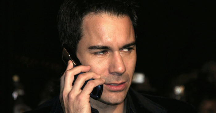 Actor Eric McCormack called for donors to President Donald Trump's campaign to be identified. (Tinseltown / Shutterstock)