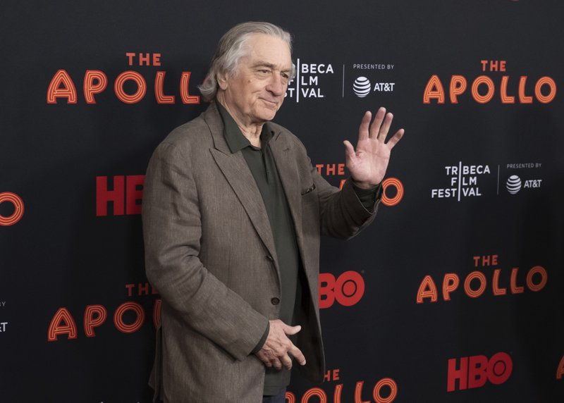 FILE - This April 24, 2019 file photo shows Robert De Niro at the screening for