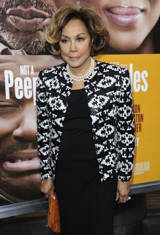 FILE - This May 8, 2013 file photo shows Diahann Carroll at the world premiere of