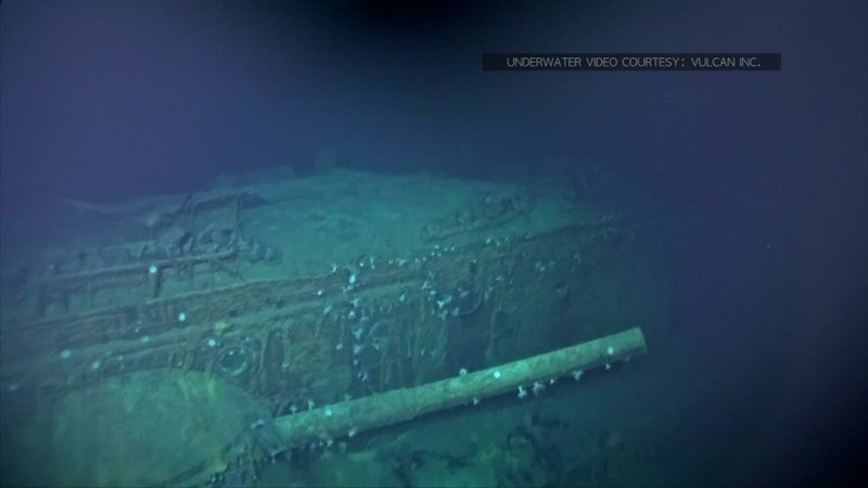 Deep-sea explorers scouring the world's oceans for sunken World War II ships are honing in on sonar readings of debris fields deep in the Pacific. They recently discovered a Japanese aircraft carrier that went down during the Battle of Midway. (Oct. 18)