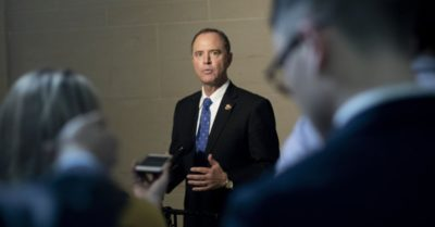 Adam Schiff attacks President Trump, suggests Congress members are fact witnesses