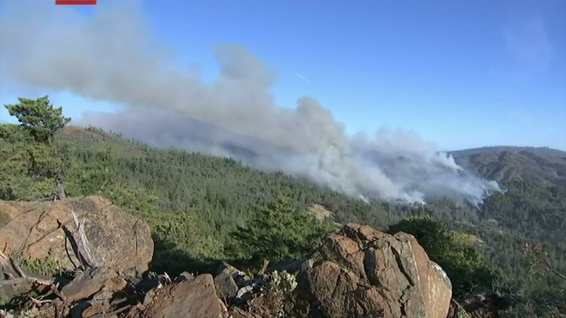 Fire crews in Northern California are working to smother wildfires using aircraft to drop water and fire retardant before windstorms return to the area.  About 156,000 people were under mandatory evacuation orders. (Oct. 29)