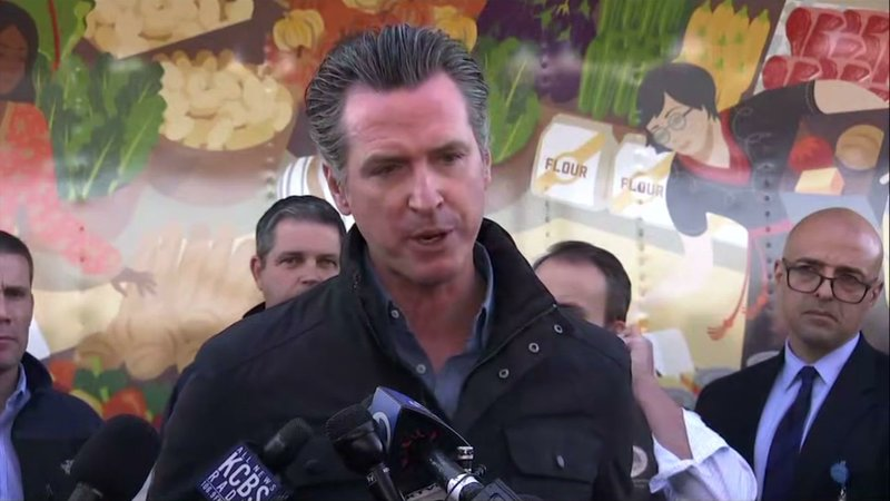 California Gov. Gavin Newsom says that as firefighters have been working over 24 hour shifts fighting wildfires, the Trump administration has granted all the state's requests for aid. (Oct. 30)