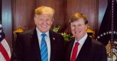 President Trump to hold rally in Mississippi Nov. 1, campaign for Gov. Tate Reeves