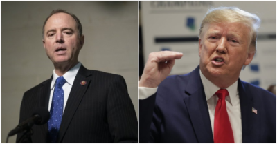 Schiff accuses President Trump of witness intimidation, White House says it's 'a true disgrace'