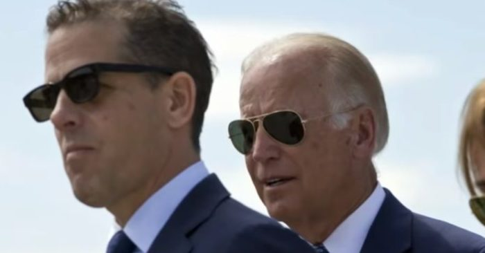 Hunter Biden, left, and former U.S. Vice President Joe Biden. (Screenshot, Youtube, ABC News)