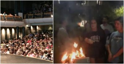 Georgia University students burn Latina author's book following lecture because she was 'bullying white people'