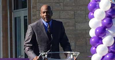 NBA legend Michael Jordan sheds tear, credits mom at opening of Novant clinic in Charlotte, North Carolina