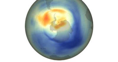 NASA says the hole in the ozone is smallest since discovery in 1982