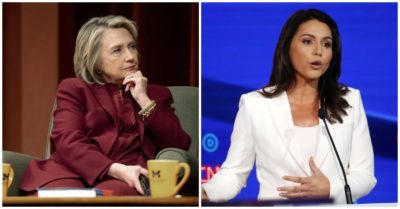 Gabbard fires back at Hillary Clinton smears, challenges 'Queen of the Warmongers' to join race