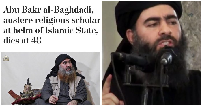 Twitterati slam Washington Post's obit headline on Baghdadi