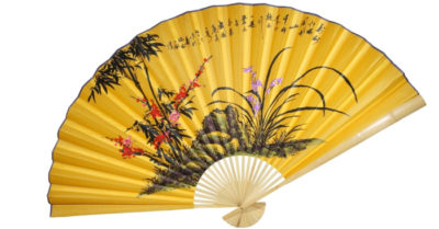 The beauty and hidden charm of Chinese folding fans