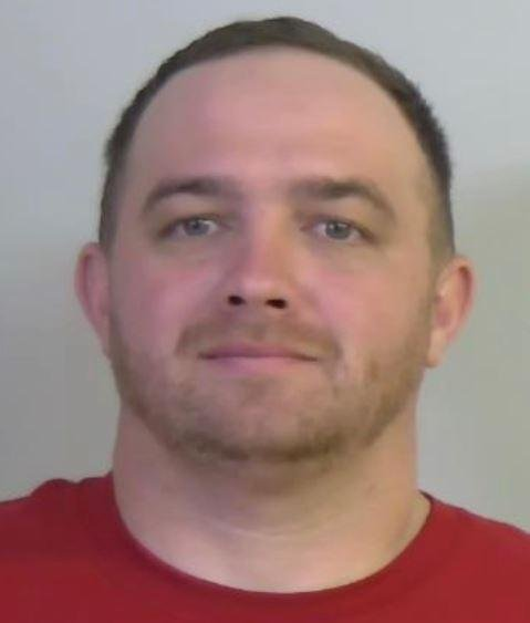 """This undated photo provided by the Tuscaloosa Police Department shows Hoyt Hutchinson. The Alabama man charged with criminal mischief in the slashing of a towering """"Baby Trump"""" balloon defended his actions to a syndicated radio show on Monday, Nov. 11, 2019, saying it was a matter of good versus evil. Hutchinson said he was shaking in anger when he drove past the balloon and its handlers Saturday, Nov. 9 during President Donald Trump's visit to see Louisiana State play against the University of Alabama. (Tuscaloosa Police Department via AP)"""