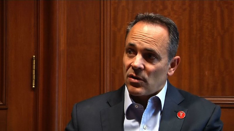 Kentucky Governor Matt Bevin says a statewide vote double-checking is unlikely to change election day results, which show him trailing Democrat Andy Beshear by more than 5,000 votes. However, he wouldn't say if he would concede. (Nov. 14)