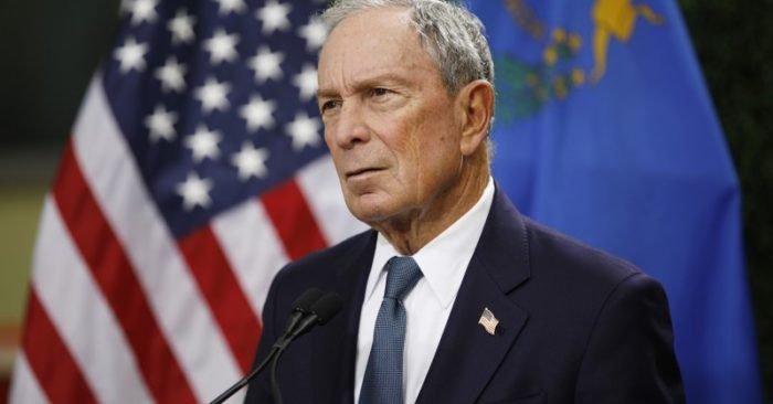 Michael Bloomberg formally launches Democratic presidential bid