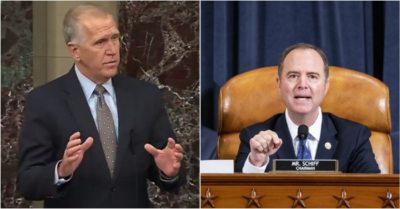 Sen. Thom Tillis exposes Democrats as obstructionists amid President Trump's wins